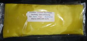 Yellow Chakra Pillow